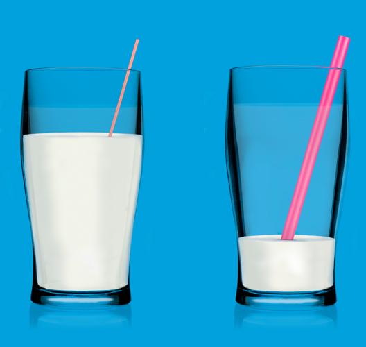 Milkshake-glasses