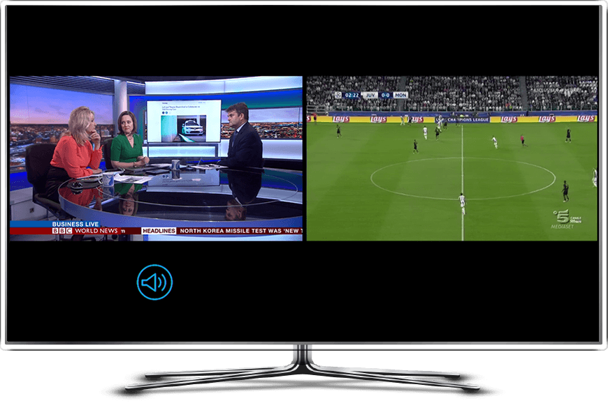 NexTV Split Screen