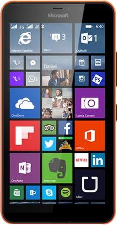 Microsoft Lumia 640XL Dual SIM-front