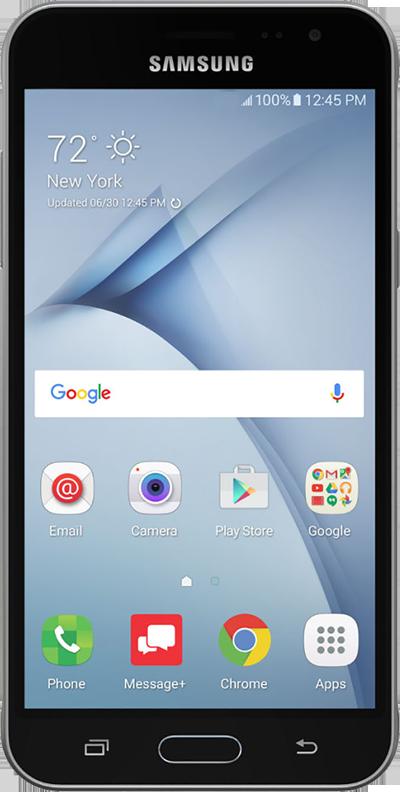 Samsung Galaxy J3 - Front