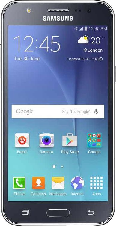 Samsung Galaxy J5 - Front