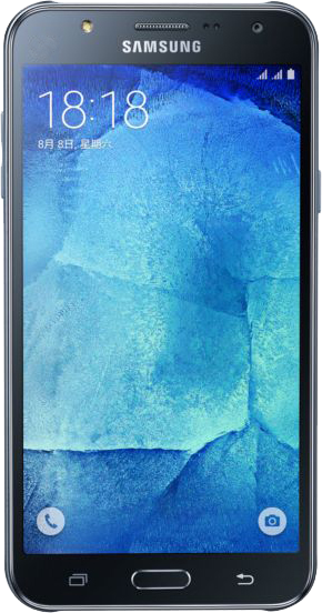 Samsung Galaxy J7 - Front