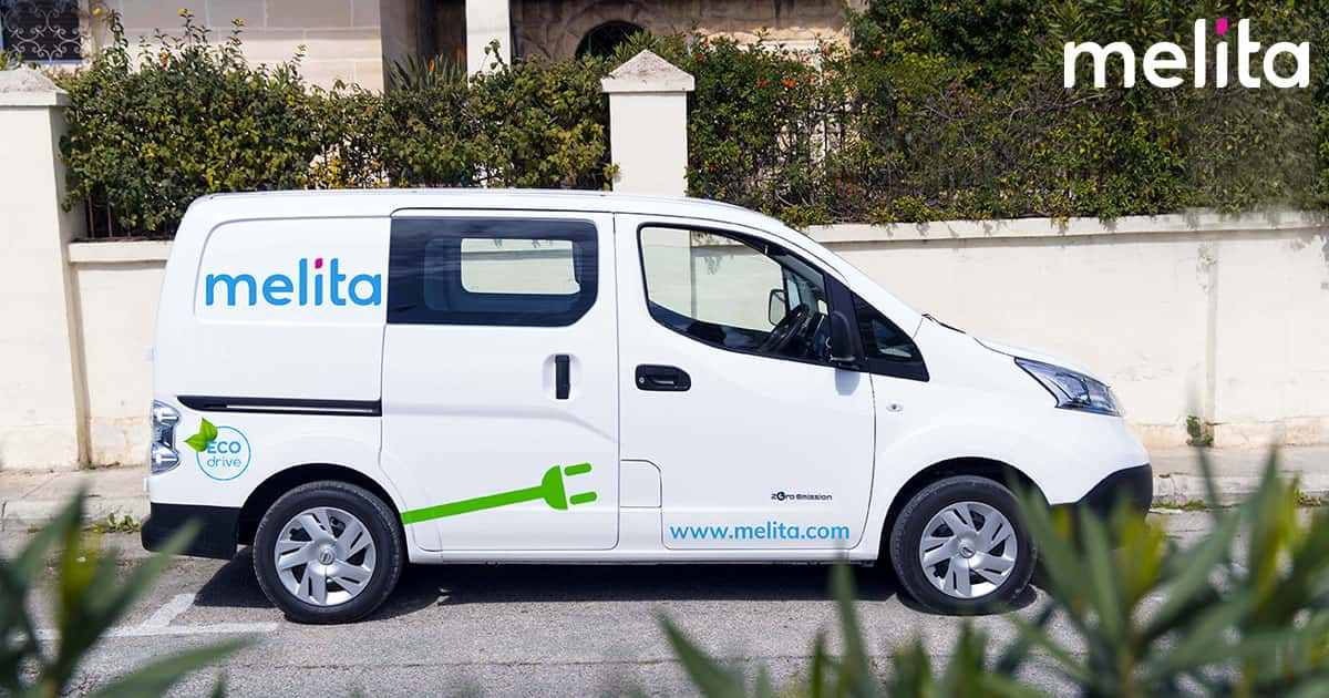 Melita begins roll out of electric vehicle fleet