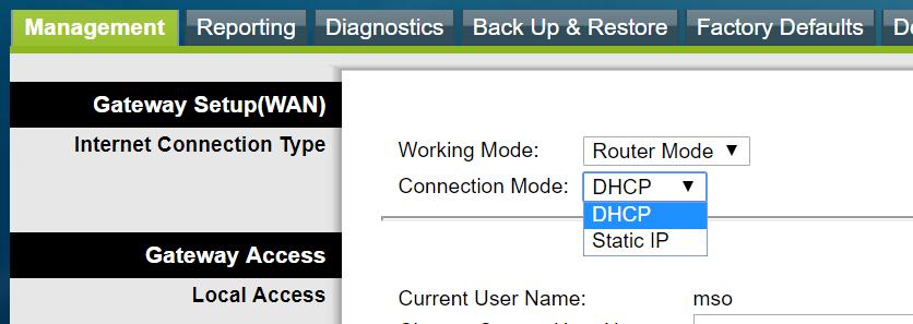 DHCP Setup CISCO