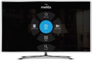 Melita NexTV home screen