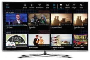 NexTV lists screen