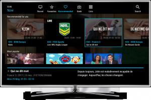 Melita NexTV recommended programmes