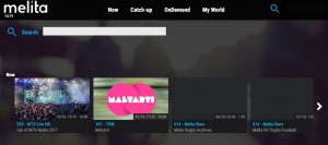 Melita NexTV search screen