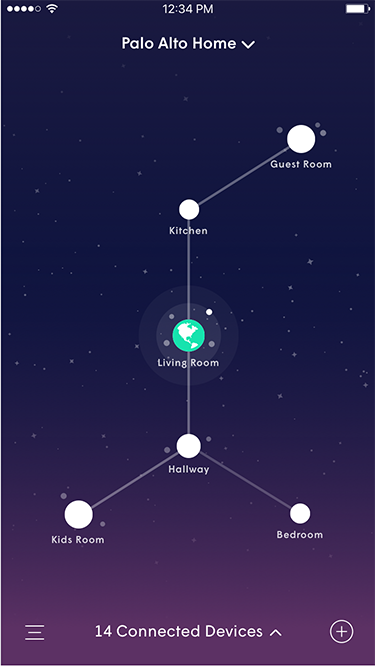 Plume App - Home Screen