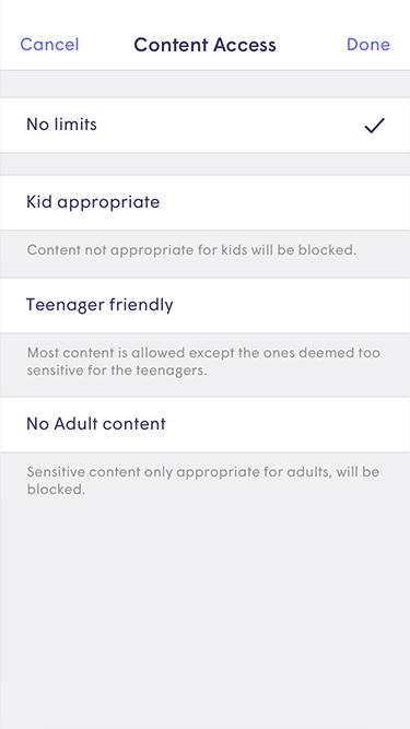 Plume App - content access no limits