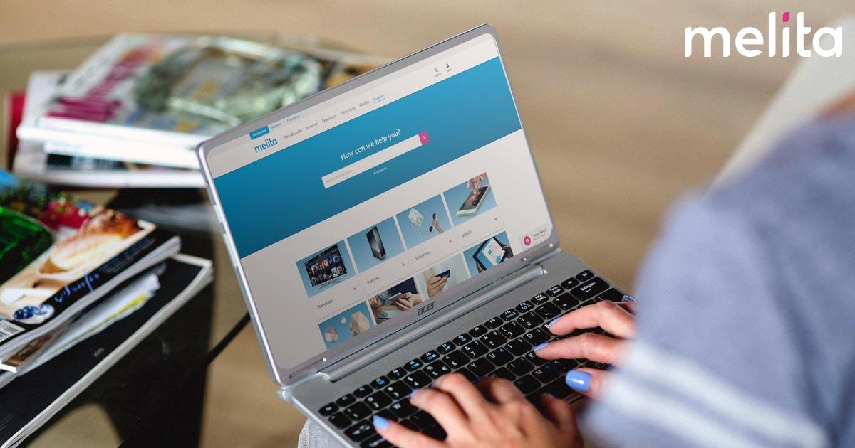 Melita revamps its online help centre