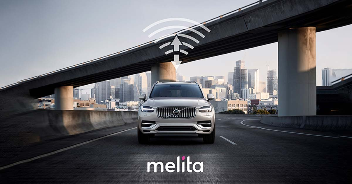 Melita to connect Volvo cars to the internet
