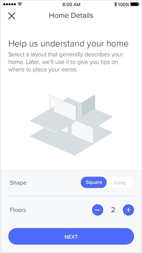 eero app home details